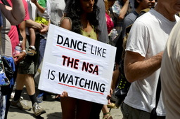 Dance like the NSA is watching